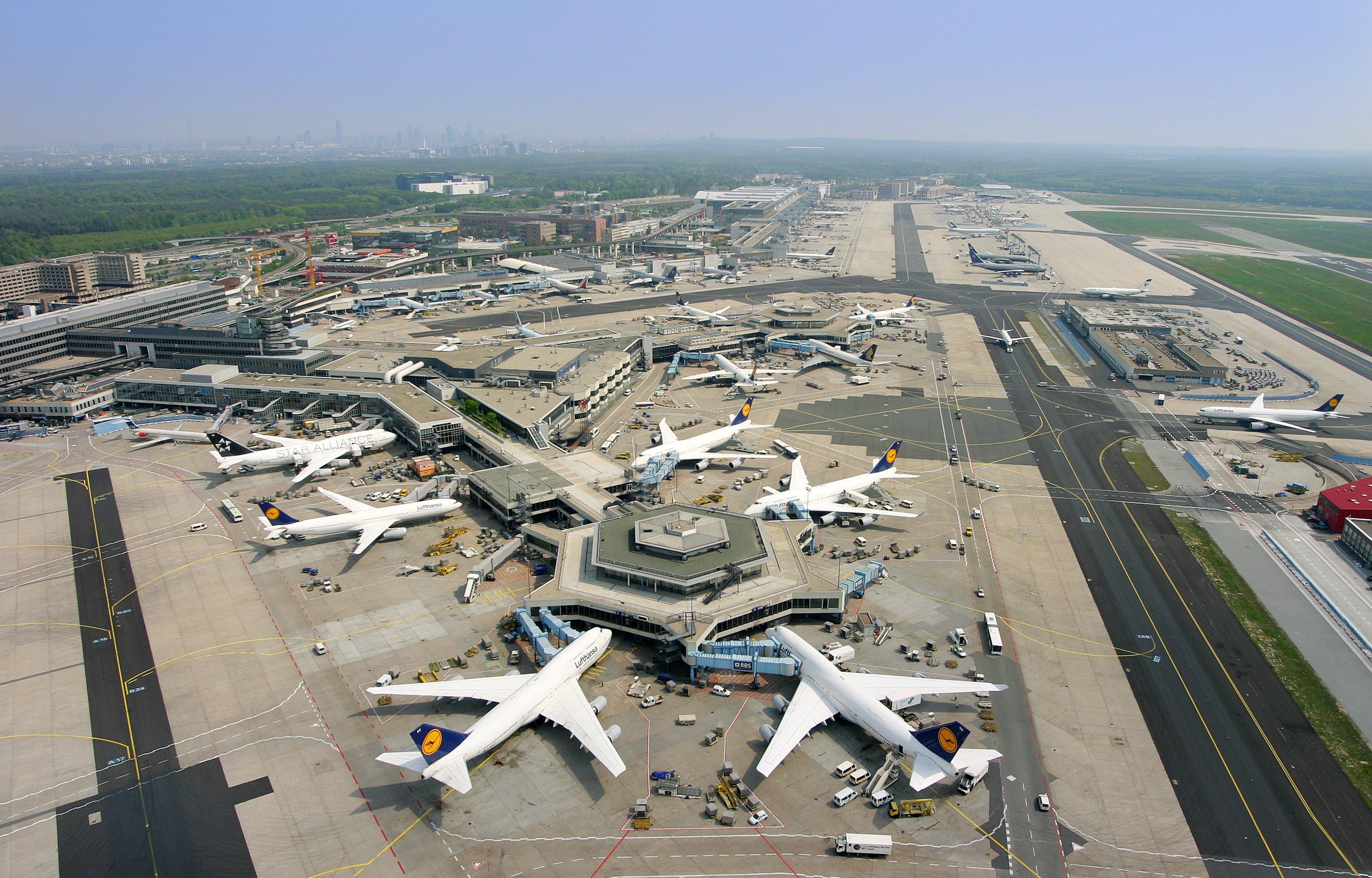 Flughafen Frankfurt Fli